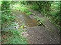 ST6563 : The byway meets the stream by James Ayres