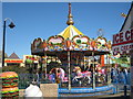 TQ8209 : Carousel at Stade Family Fun Park by Oast House Archive