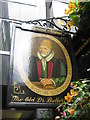 TQ3281 : Old Doctor Butler's Head Pub Sign by David Anstiss