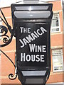 TQ3281 : Jamaica Wine House Pub Sign by David Anstiss