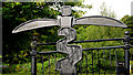 J3371 : National Cycle Network milepost, Stranmillis, Belfast (1) by Albert Bridge