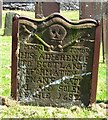 NX7266 : Covenanter's Gravestone (rear), Crossmichael Churchyard by James Bell
