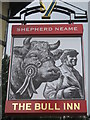 TR0161 : The Bull, Faversham, Pub Sign by David Anstiss