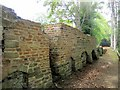 NY9763 : Excavated remains of Dilston Hall by Andrew Curtis