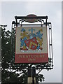TQ6672 : The Westcourt Inn, Pub Sign, Gravesend by David Anstiss