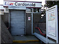 NS5364 : Cardonald railway station by Thomas Nugent