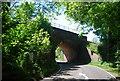 TQ6133 : Railway bridge over the B2099 by N Chadwick