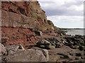 S7501 : Sandstone cliffs in Harrylock Bay : Week 35