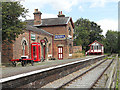 SJ3377 : Hadlow Road Station on the NCR 56 by Row17