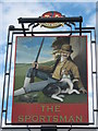 TR0664 : The Sportsman, Pub Sign, Seasalter by David Anstiss