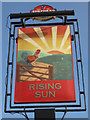 TQ7911 : Rising Sun sign by Oast House Archive