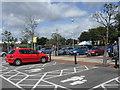 SU6704 : Car park at Sainsbury's, Farlington by James Denham