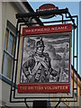 TR0042 : The British Volunteer, Pub Sign, Ashford by David Anstiss
