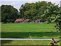 SU9416 : Stables seen from Seaford College Golf Course by Shazz