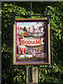 TQ7825 : Bodiam village sign by Oast House Archive