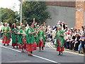 TR0161 : Morris dancing women in Preston Street by pam fray