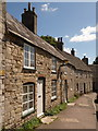 SY9681 : Corfe Castle: West Street cottages : Week 35