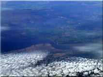 NY0066 : River Nith from the air by Thomas Nugent