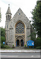 TQ2277 : Holy Trinity church, Barnes: west end by Stephen Craven