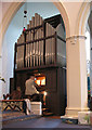 TQ2277 : Holy Trinity church, Barnes: organ by Stephen Craven