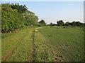 TL6173 : Footpath on Moor Farm by Hugh Venables