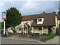 TQ7558 : The Yew Tree Public House, Sandling by David Anstiss