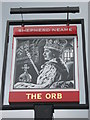TR3569 : The Orb, Pub Sign, Ramsgate by David Anstiss