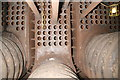 SJ3392 : Steam tug Daniel Adamson - inside the Scotch boiler by Chris Allen