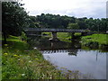 NY6820 : Appleby - footbridge over River Eden by Dave Bevis