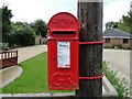 TM4463 : GR post box at Leiston, Suffolk by Adrian S Pye