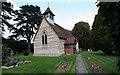 SP9505 : Hawridge Church & church yard by Tom Presland