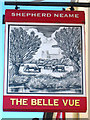 TR3664 : The Belle Vue sign by Oast House Archive