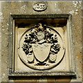 SU1084 : Coat of arms, St Mary's Church, Lydiard Tregoze, Swindon by Brian Robert Marshall