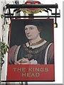 TR0546 : The Kings Head, Pub Sign, Wye by David Anstiss