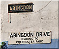 J3373 : Abingdon Drive, Belfast (2) by Albert Bridge