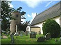 TM3973 : Bramfield St Andrew�s church by Adrian S Pye