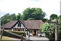 TQ0844 : Village Hall, Peaslake by N Chadwick