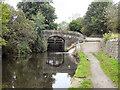 SD8906 : Rochdale Canal, Bridge No 71 by David Dixon