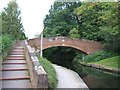SP0585 : The Vale bridge over the Worcester and Birmingham canal by David Smith