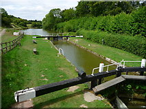 SU3568 : Hungerford - Lock by Chris Talbot