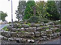 M1579 : Statue of the Virgin Mary and baby Jesus, near Ballintubber Abbey by L S Wilson