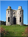 SW4834 : The south east elevation of Roger Tower by Rod Allday