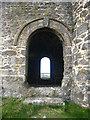 SW5037 : The cylinder doorway at Giew Pumping Engine House by Rod Allday