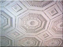 SO8844 : Adam ceiling at Croome Court by Trevor Rickard