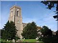 TL8654 : Lawshall All Saints church by Adrian S Pye