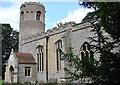 TL7963 : Little Saxham St Nicholas� church by Adrian S Pye