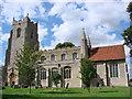 TL9245 : Little Waldingfield St Lawrence�s church by Adrian S Pye