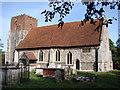 TM0839 : Little Wenham All Saints by Adrian S Pye