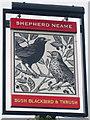 TQ6649 : Bush, Blackbird & Thrush sign by Oast House Archive