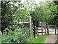 SP0979 : Scribers Lane, footpath by Michael Westley